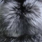 Лиса чернобурка серебристо-черная ˜— Ателье по коже