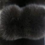 Песец вуалевый коричневый — Ателье по коже