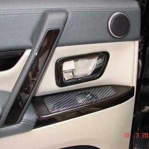 Перетяжка авто натуральными материалами — Ателье по коже Чебоксары