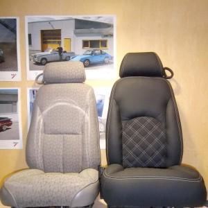 Перетяжка автомобильного сидения — Ателье по коже