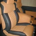 Перетяжка сидений авто кожей — Ателье по коже
