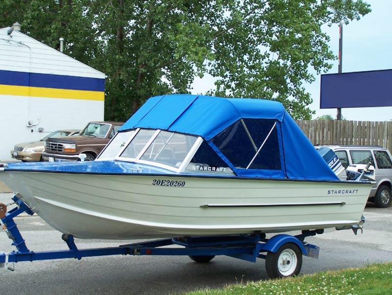 прозрачный тент на лодку