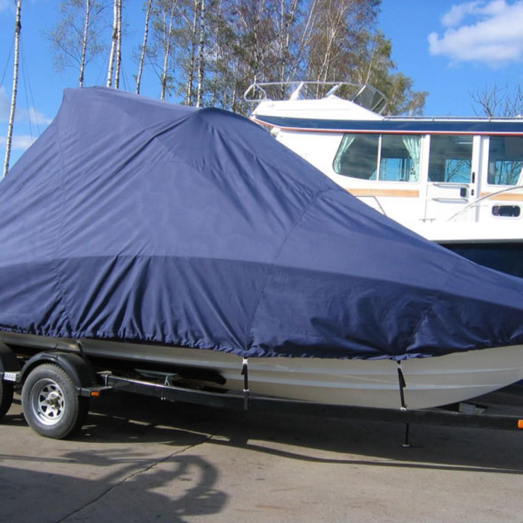 Пошив тента на лодку своими руками