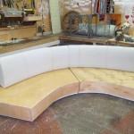 Мягкая мебель для яхт на заказ
