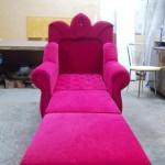 Перетяжка кресла — Ателье по коже