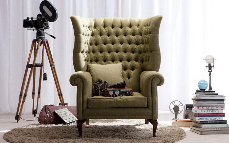 Диваны и кресла с каретной стяжкой — «Ателье по коже»