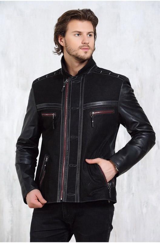 Мужская кожаная куртка замша — Ателье по коже Чебоксары