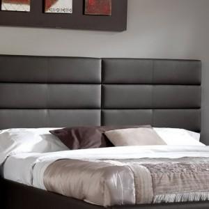 Кровать мягкое изголовье кожзам — Ателье по коже