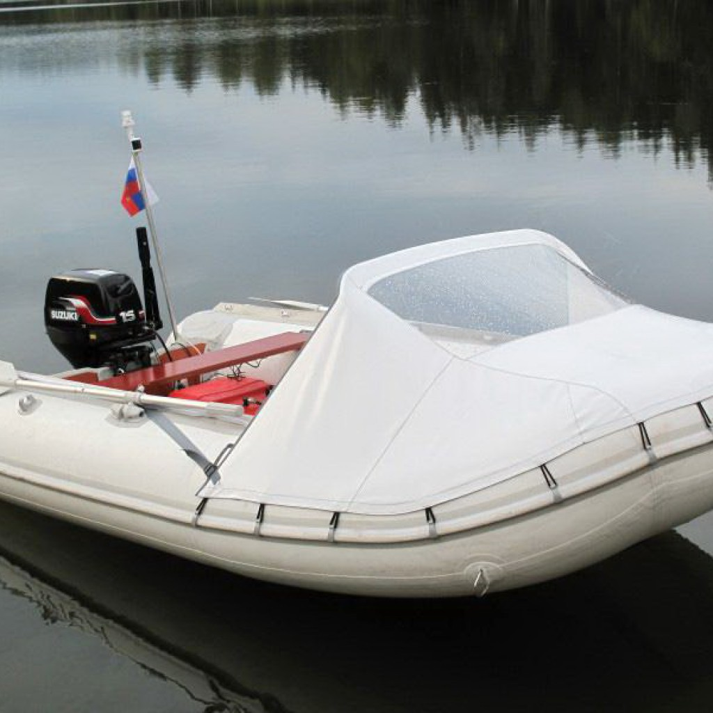 носовой тент на лодку заказать