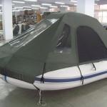 Тент палатка на лодку ПВХ — Ателье по коже