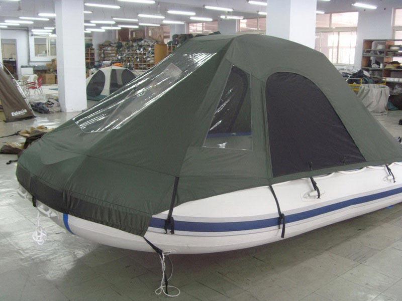 сшить палатку на лодку пвх