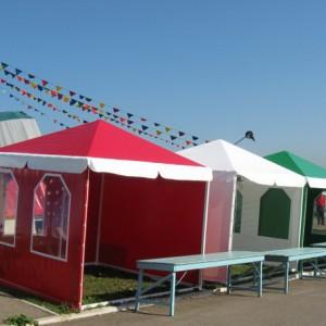 Торговые и садовые тенты палатки шатры — Чебоксары Ателье по коже