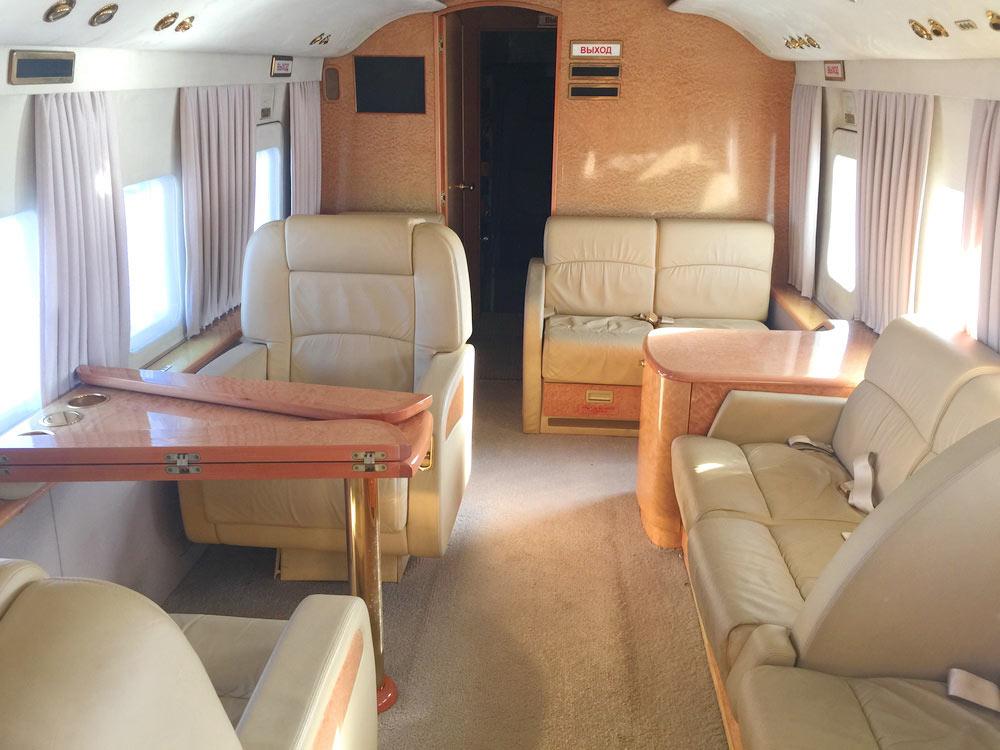 Перетяжка салона вертолета — Ателье по коже Чебоксары