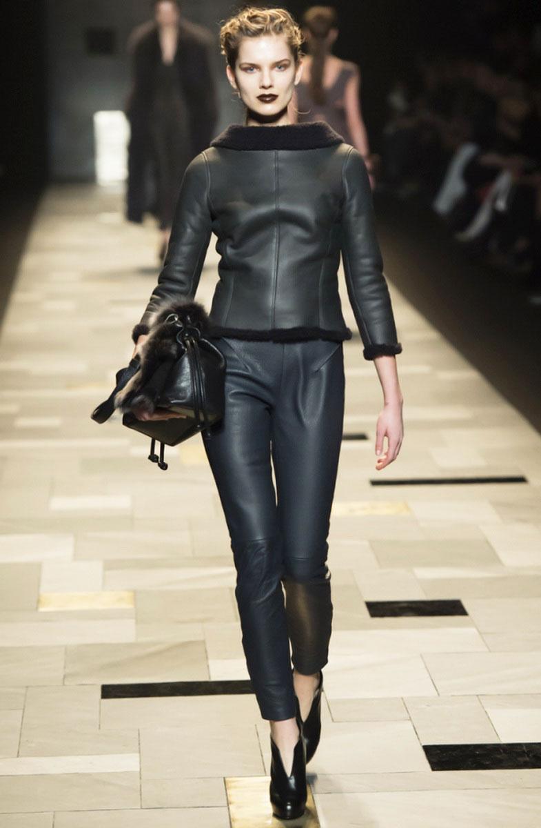 Коллекция женских кожаных курток от извесных дизайнеров осень 2008