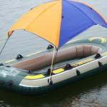 Тент на лодку ПВХ руками профессионалов