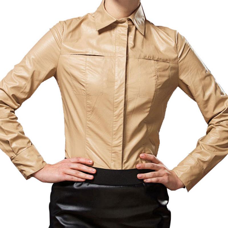 956224a6ba1 Кожаная рубашка по индивидуальному заказу в «Ателье по коже»
