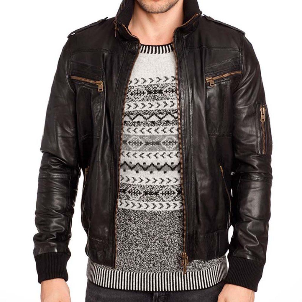 Куртки кожаные мужские 29 — Ателье по коже