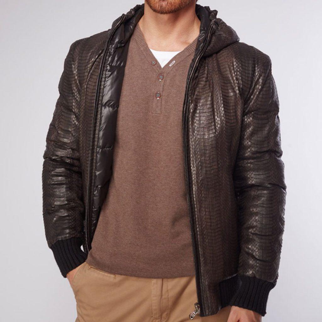 Качественные куртки кожаные мужские на заказ в «Ателье по коже»