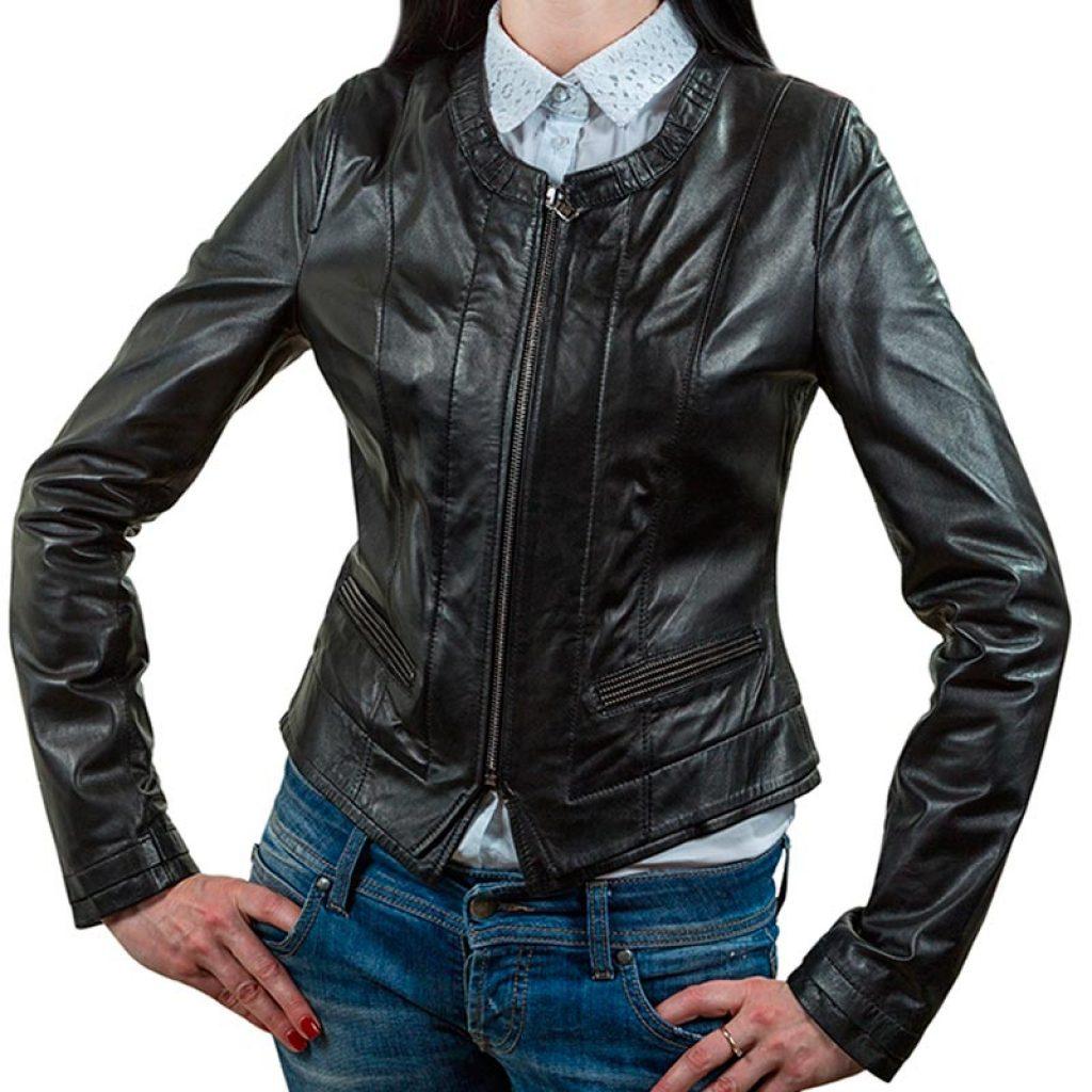 Куртка кожаная женская 1 — Ателье по коже