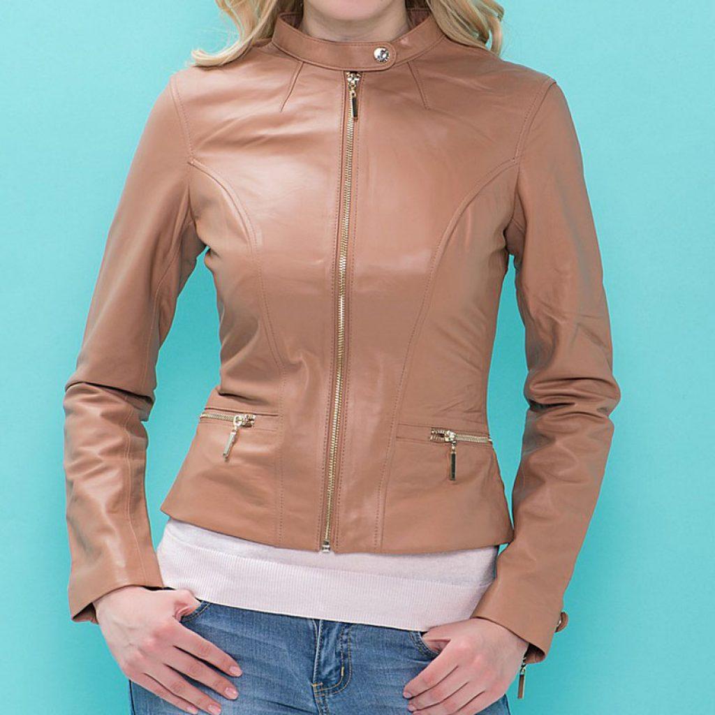 Куртка кожаная женская 11 — Ателье по коже