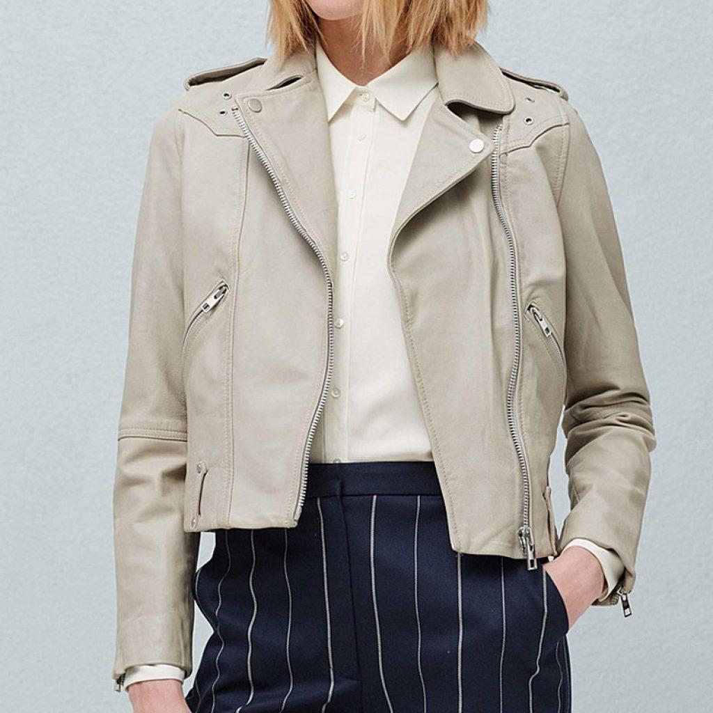 Куртка кожаная женская 12 — Ателье по коже