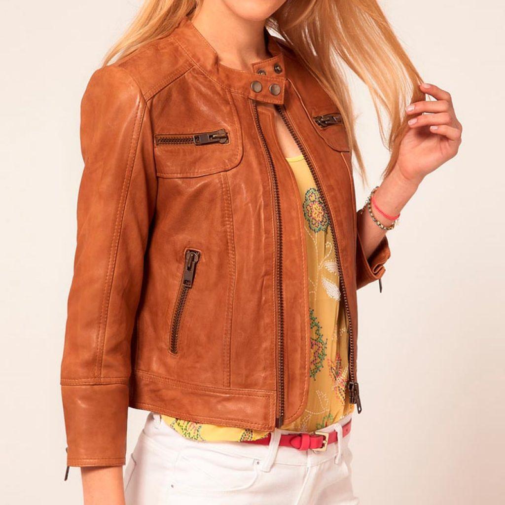 Куртка кожаная женская 14 — Ателье по коже