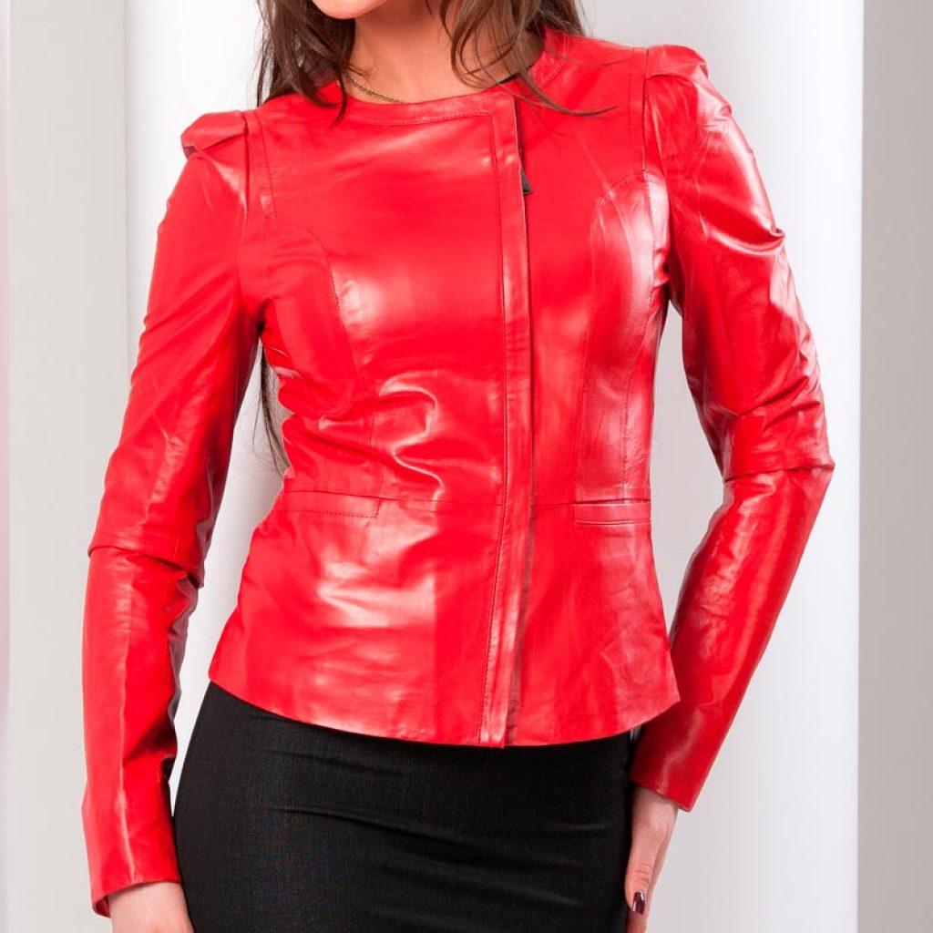 Куртка кожаная женская 15 — Ателье по коже