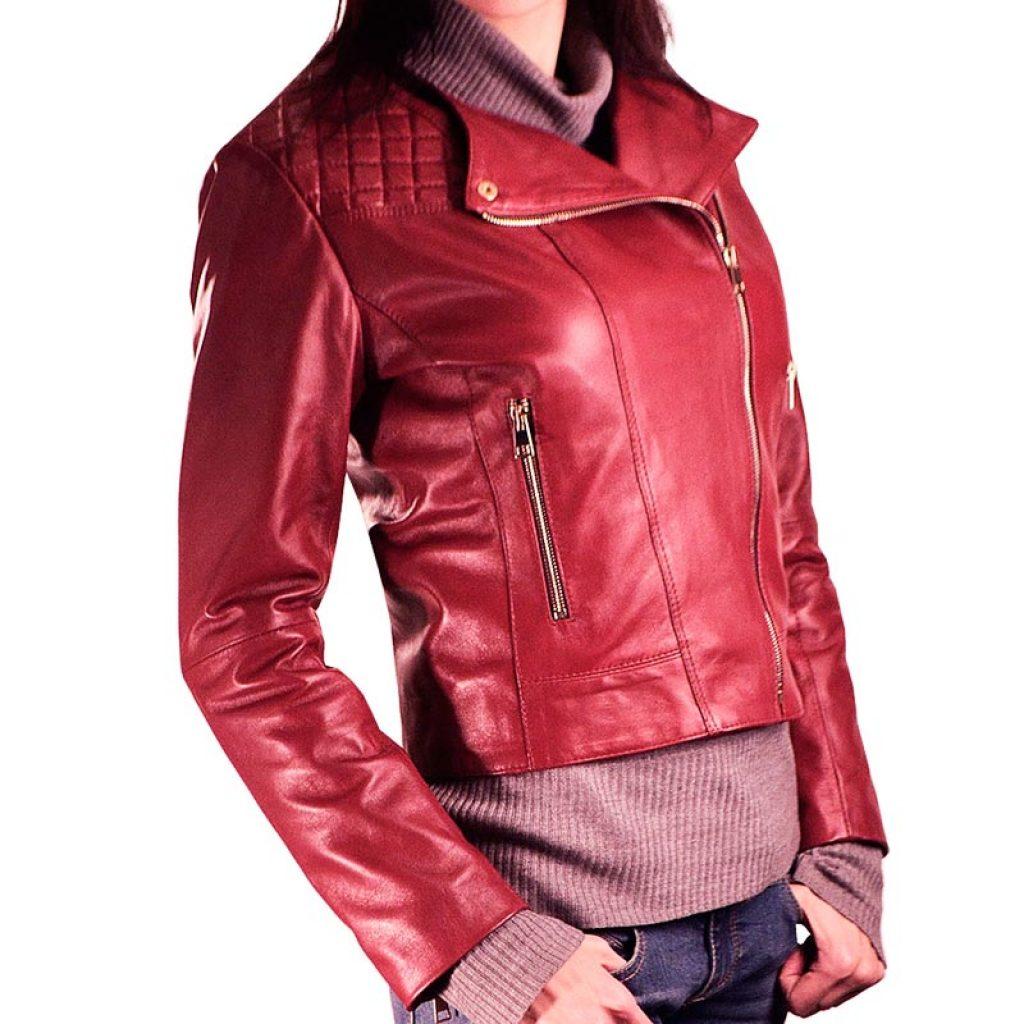 Куртка кожаная женская 18 — Ателье по коже