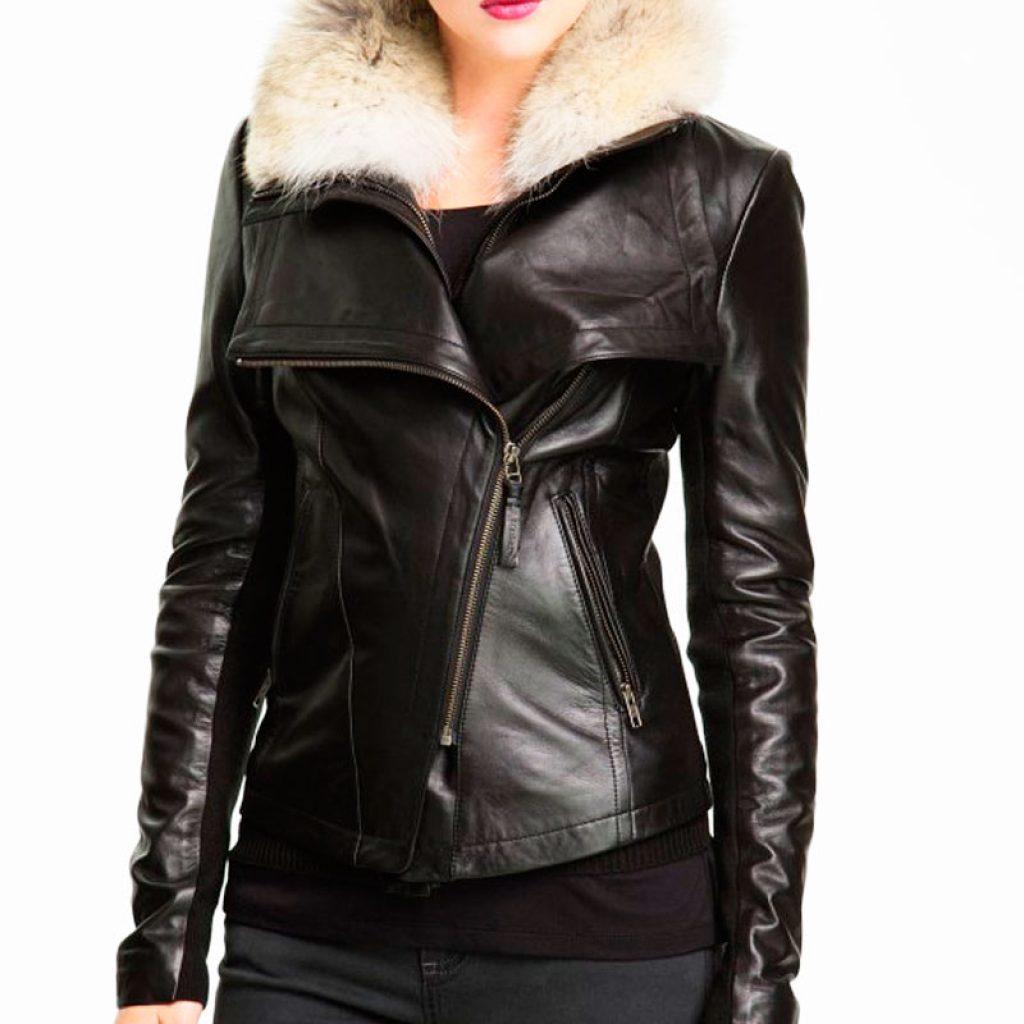 Куртка кожаная женская 2 — Ателье по коже