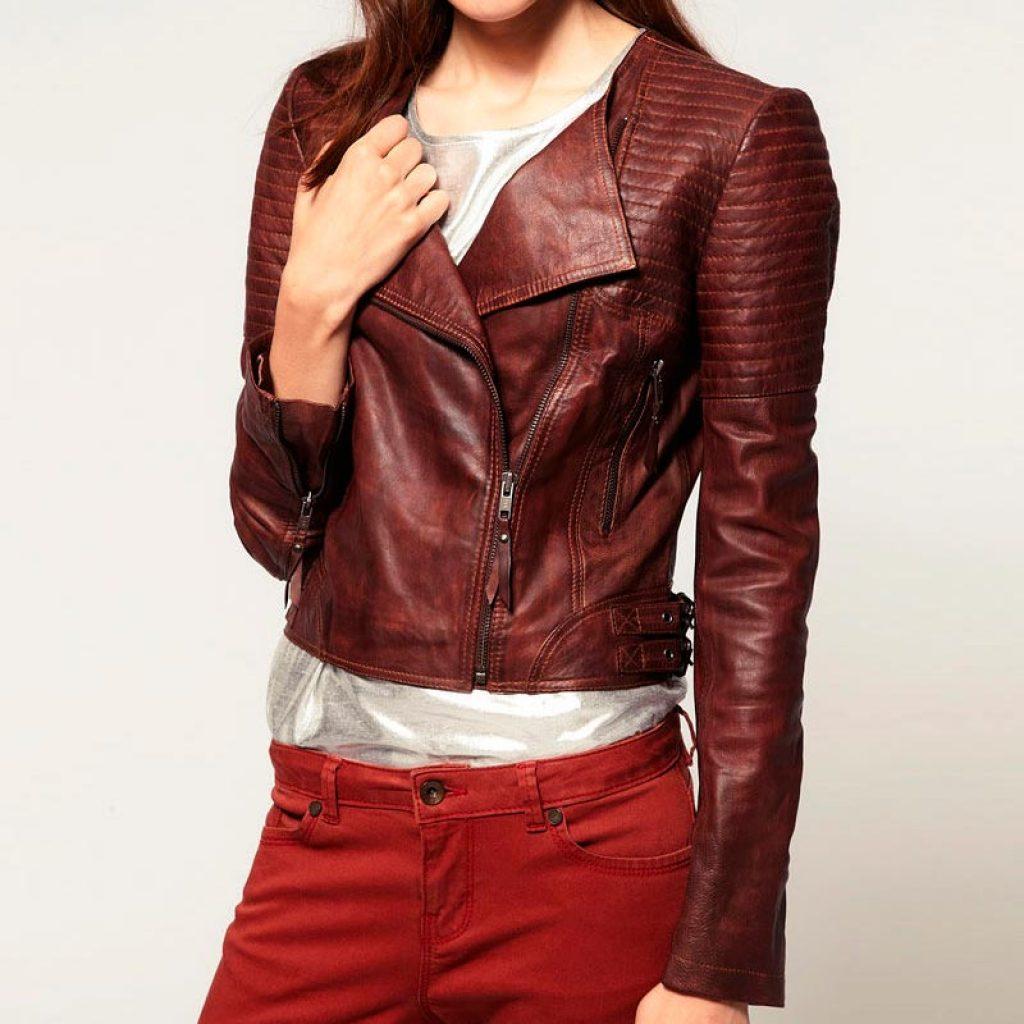 Куртка кожаная женская 25 — Ателье по коже
