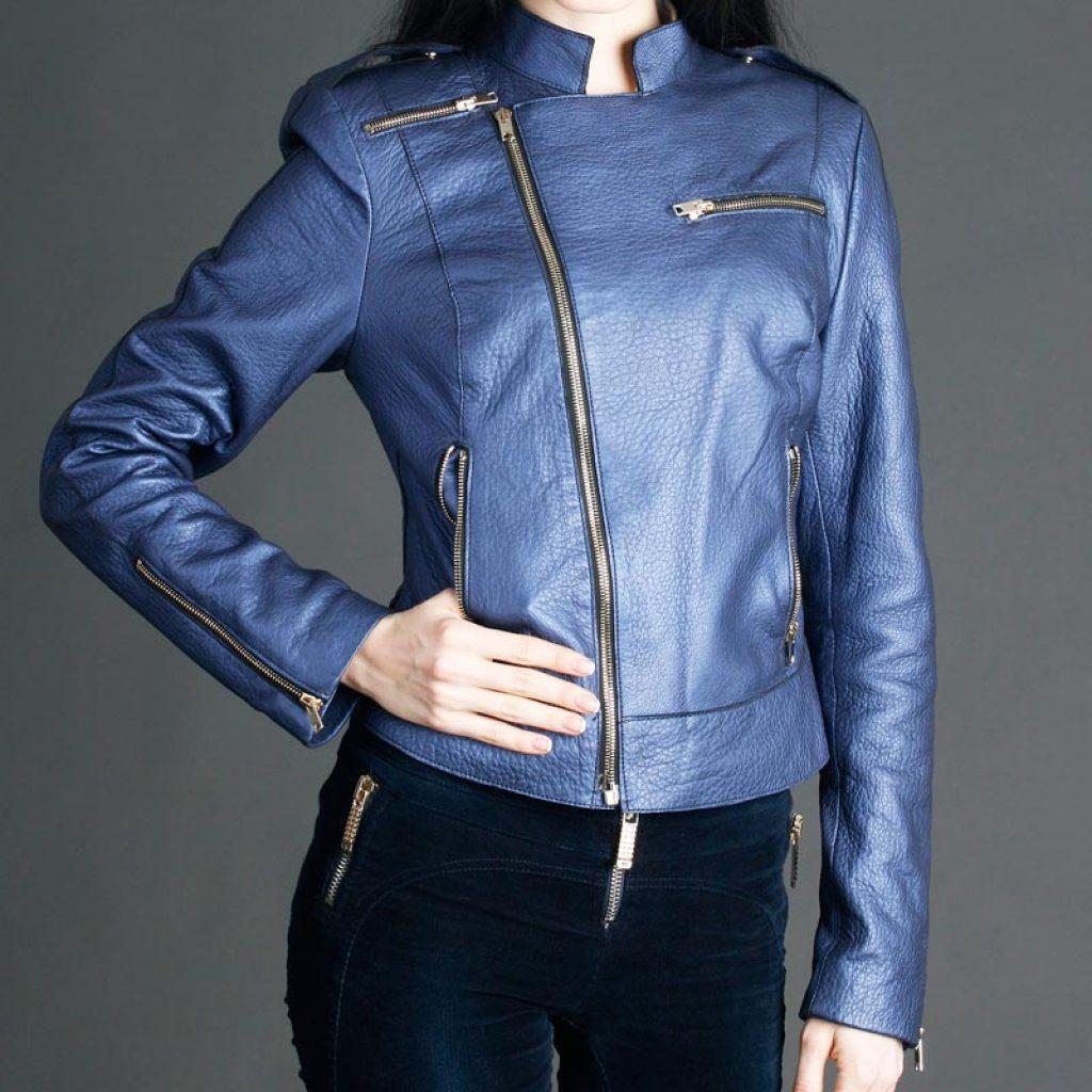 Куртка кожаная женская 27 — Ателье по коже