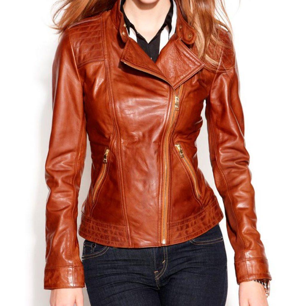 Куртка кожаная женская 28 — Ателье по коже Чебоксары