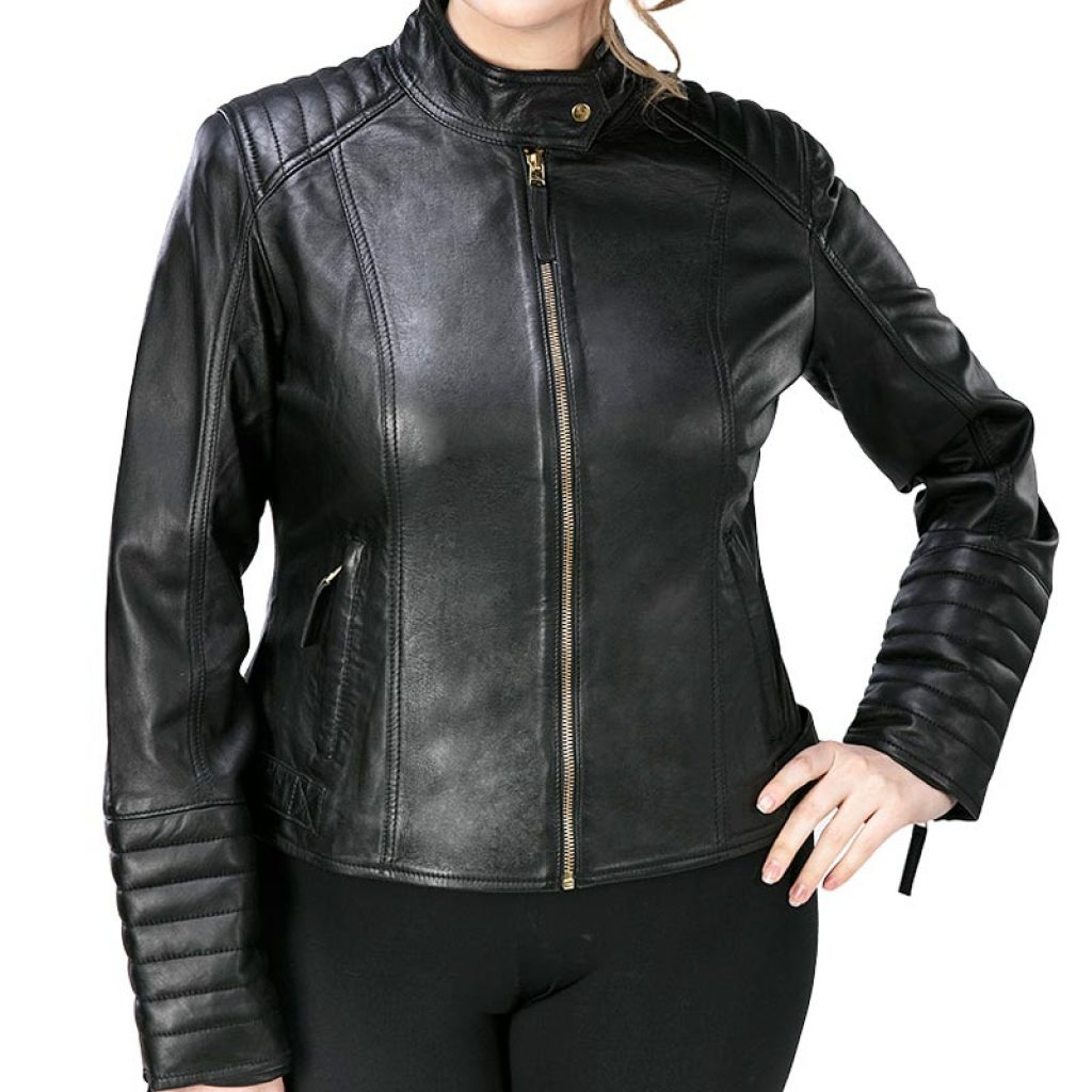 Куртка кожаная женская 29 — Ателье по коже