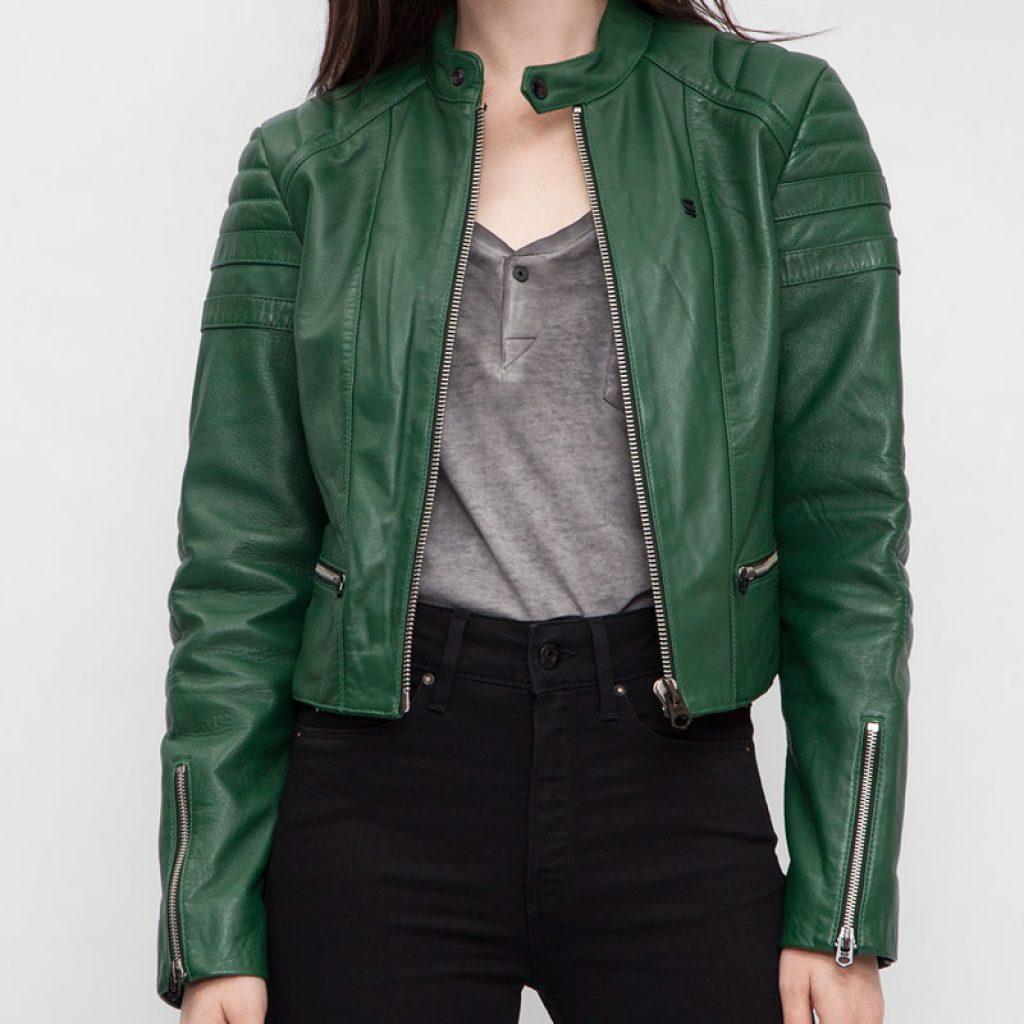 Куртка кожаная женская 3 — Ателье по коже