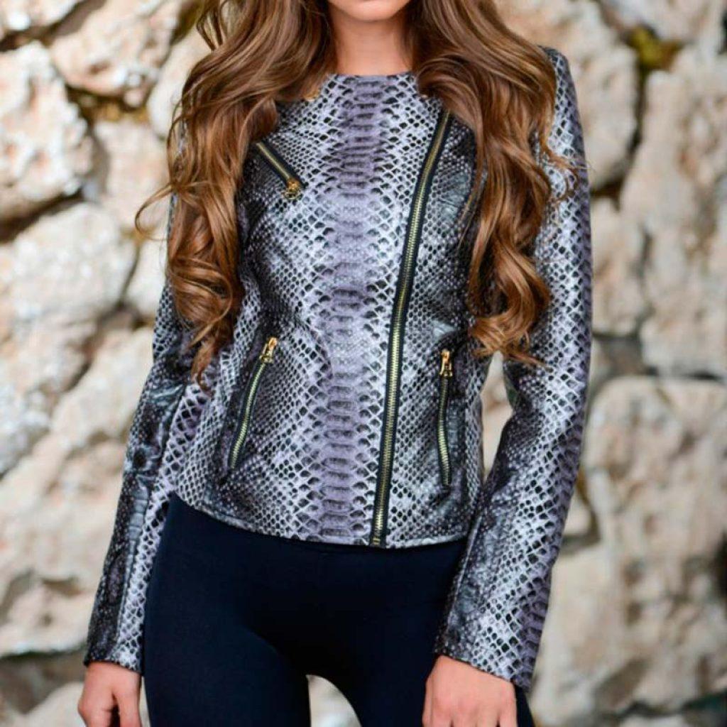 Куртка кожаная женская 30 — Ателье по коже