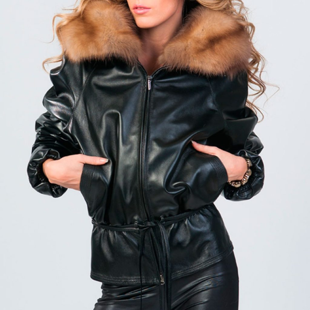 Куртка кожаная женская 8 — Ателье по коже
