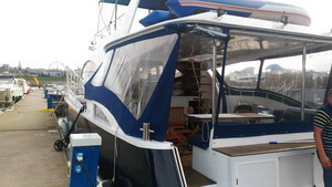 Тенты на яхты и катера в