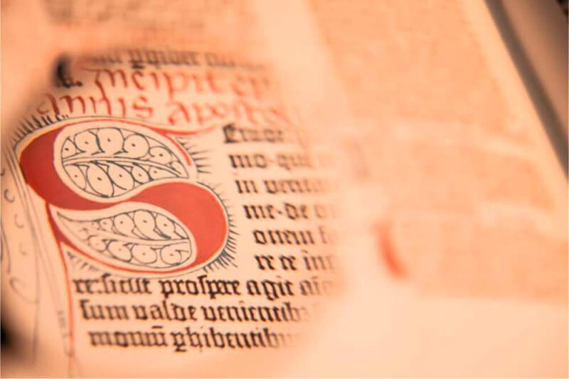 Библия Гутенберга бумага из Германии - Ателье по коже Чебоксары