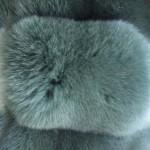 Песец вуалевый хаки — Ателье по коже