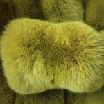 Песец вуалевый горчичный — Ателье по коже