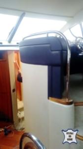 Перетяжка перегородок на яхтах и катерах - Ателье по коже