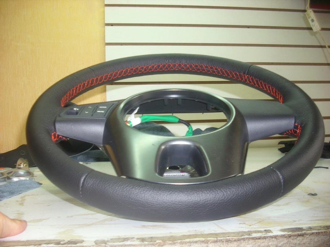 Перетяжка руля автомобиля — Ателье по коже