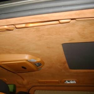 Перетяжка потолка автомобиля — Ателье по коже