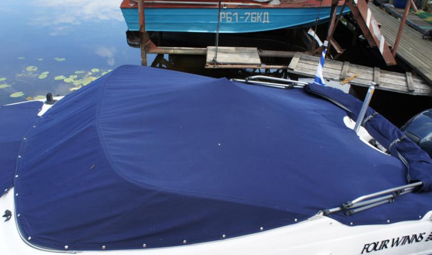 Пошив тентов на заказ на катер и яхту в Ателье по коже Чебоксары - 6
