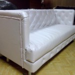 Перетяжка дивана на заказ — Ателье по коже