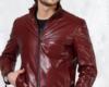 Мужская куртка кожаная на молнии
