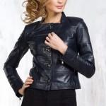 Куртка кожаная женская на пуговицах — Ателье по коже Чебоксары