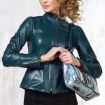 Двусторонняя кожаная женская куртка — Ателье по коже Чебоксары
