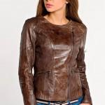 Женская куртка косуха из кожи — Ателье по коже Чебоксары