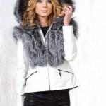 Женская кожаная куртка с натуральным мехом — Ателье по коже Чебоксары